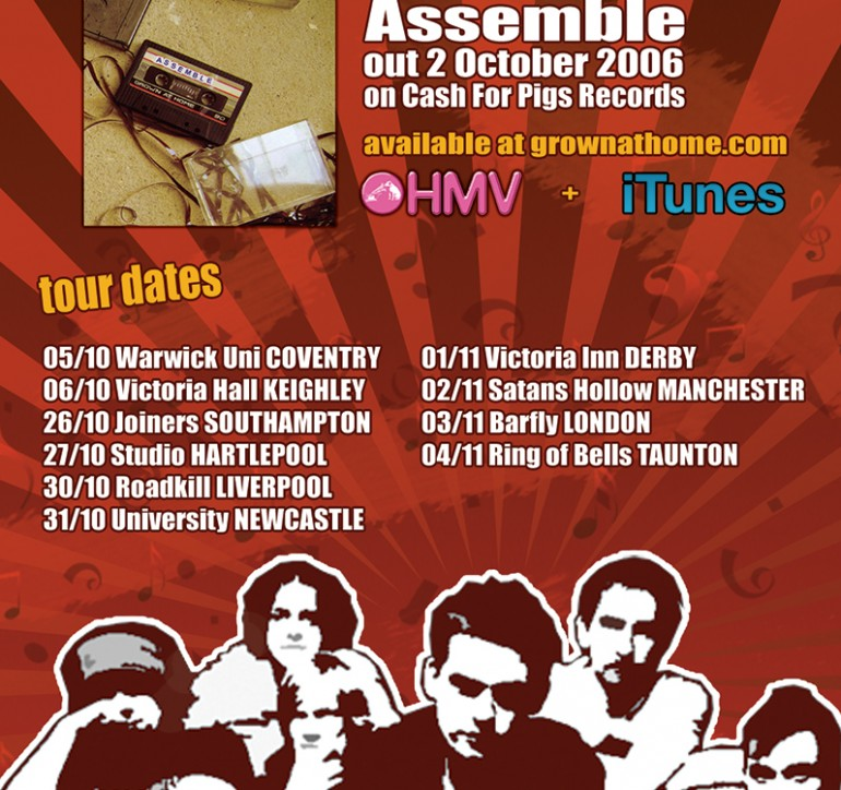 Assemble – Tour Poster