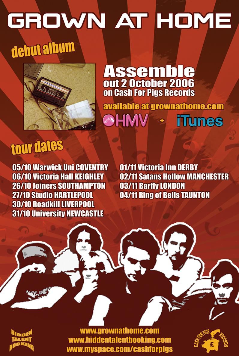 Assemble Tour Poster
