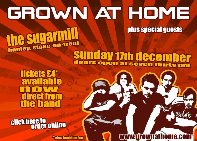 The Sugarmill, Hanley - 17 Dec 2007